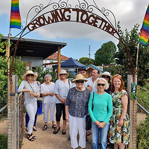 Poowong Garden Club at Warragul Community Garden