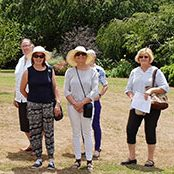Ladies from Poowong Garden club exploring Bingara Garden